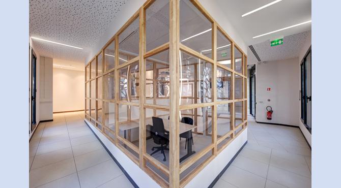 paul segura architecte nouvelle mairie de p rigueux. Black Bedroom Furniture Sets. Home Design Ideas